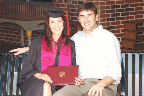 Darren & Lindsey - UA graduation 2012