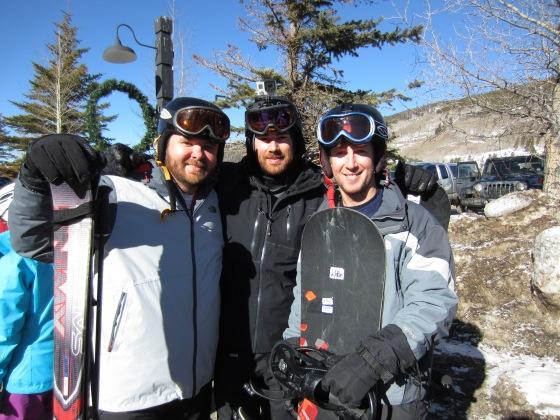 The boys: Triple, Darren, and Kurtis